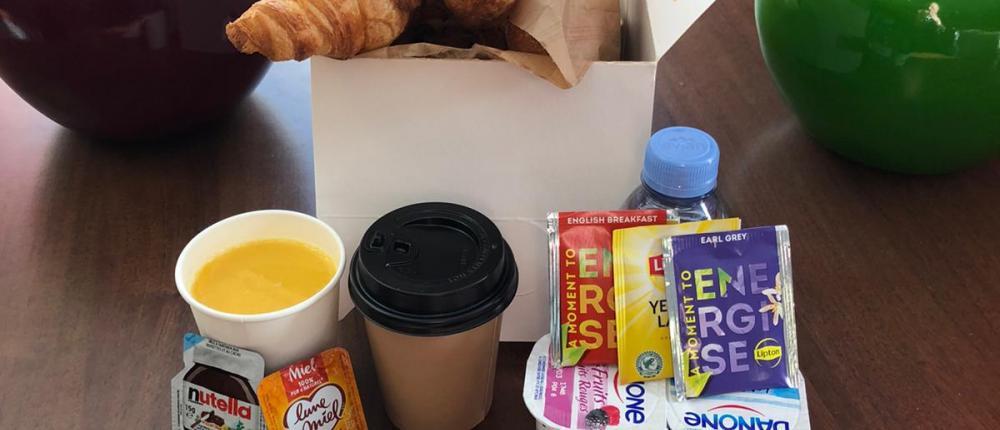 Petit-déjeuner à emporter